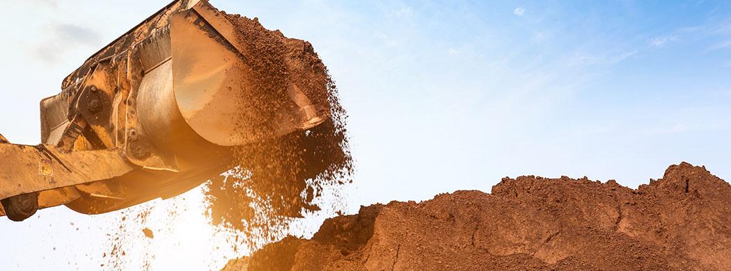 Izkopi bager zemeljska dela
